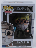 """Si Robertson Signed Duck Dynasty """"Uncle Si"""" #78 Funko Pop! Vinyl Figure (PSA COA) at PristineAuction.com"""