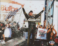 Aric Almirola Signed 8x10 Photo (JSA COA) at PristineAuction.com