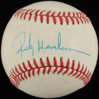 Ricky Henderson Signed OAL Baseball (JSA COA) at PristineAuction.com