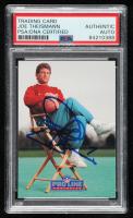 Joe Theismann Signed 1991 Pro Line Portraits #56 (PSA Encapsulated) at PristineAuction.com