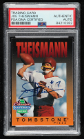 Joe Theismann Signed 1995 Tombstone Pizza #11 (PSA Encapsulated) at PristineAuction.com
