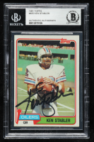 Ken Stabler Signed 1981 Topps #405 (BGS Encapsulated) at PristineAuction.com