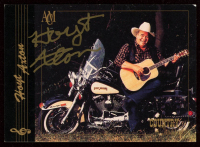 Hoyt Axton Signed 2.5x3.5 Card (JSA COA) at PristineAuction.com
