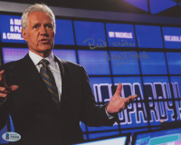 "Alex Trebek Signed ""Jeopardy"" 8x10 Photo Inscribed ""Best Wishes!"" (Beckett COA) at PristineAuction.com"