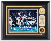 Terry Bradshaw Signed LE Steelers 13x16 Custom Framed Photo Display (Mounted Memories COA) at PristineAuction.com