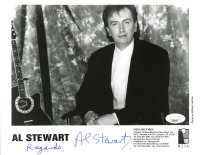 "Al Stewart Signed 8x10 Photo Inscribed ""Regards"" (JSA COA) at PristineAuction.com"