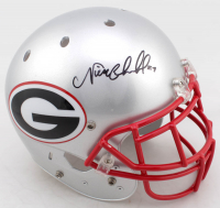 Nick Chubb & Elijah Holyfield Signed Georgia Bulldogs Full-Size Speed Helmet (JSA Hologram) at PristineAuction.com