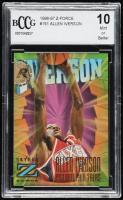 Allen Iverson 1996-97 Z-Force #151 RC (BCCG 10) at PristineAuction.com