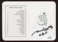 "Jim Nance Signed Masters Augusta National Golf Club Scorecard Inscribed ""CBS"" (JSA COA) at PristineAuction.com"
