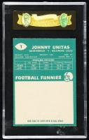 Johnny Unitas 1961 Topps #1 (SGC 7.5) at PristineAuction.com