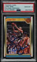 Larry Bird Signed 1988-89 Fleer #124 All-Star (PSA Encapsulated) at PristineAuction.com