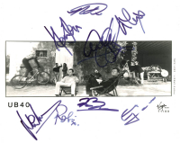 UB40 8x10 Photo Signed by (8) Ali Campbell, Robin Campbell, Mickey Virtue (JSA ALOA) at PristineAuction.com