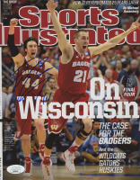 Frank Kaminsky Signed Wisconsin Badgers 8x10 2014 Sports Illustrated Cover Photo (JSA COA) at PristineAuction.com