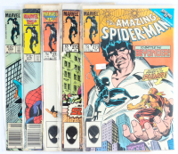Lot of (5) Amazing Spider-Man Marvel Comic Books Issues Ranging from #269 - #278 at PristineAuction.com