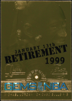 Michael Jordan 1997 Fleer Games of the Game 23kt Gold Card 1999 Retirement at PristineAuction.com
