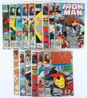 Lot of (15) Iron Man Marvel Comic Books Issues Ranging from #1 - #290 at PristineAuction.com
