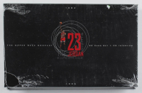 1996 Upper Deck Michael Jordan 22kt Gold Trading Card Box With (23) Cards at PristineAuction.com