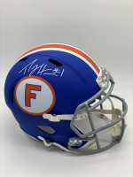 Percy Harvin Signed Florida Gators Full Size Speed Helmet (JSA COA) at PristineAuction.com