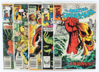 Lot of (5) Amazing Spider-Man Marvel Comic Books Issues Ranging from #240 - #251 at PristineAuction.com