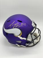 Percy Harvin Signed Vikings Full Size Speed Helmet (JSA COA) at PristineAuction.com