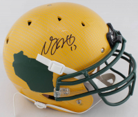 Davante Adams Signed Full-Size Authentic On-Field Hydro Dipped Helmet (JSA COA) at PristineAuction.com