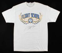 Michael Jordan Signed Vintage Flight School T-Shirt (JSA ALOA) at PristineAuction.com