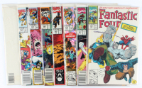 Lot of (7) Fantastic Four Marvel Comic Books Issues Ranging from #348 - #375 at PristineAuction.com
