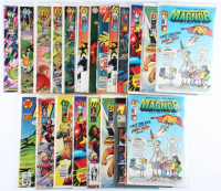 Lot of (20) The Mighty Magnor Malibu Comic Books Issues Ranging from #348 - #375 at PristineAuction.com