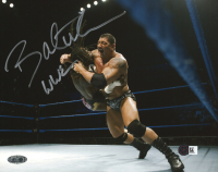 "Dave Bautista Signed WWE 8x10 Photo Inscribed ""WWE"" (Steiner COA) at PristineAuction.com"
