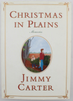 "Jimmy Carter Signed ""Christmas in Plains"" Soft Cover Book (JSA COA) at PristineAuction.com"