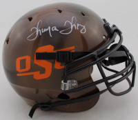 Thurman Thomas Signed Oklahoma State Cowboys Full-Size Authentic On-Field Hydro-Dipped Helmet (JSA COA) at PristineAuction.com