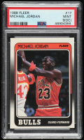 Michael Jordan 1988-89 Fleer #17 (PSA 9) (OC) at PristineAuction.com