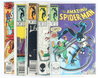 Lot of (5) Amazing Spider-Man Marvel Comic Books Issues Ranging from #186 - #297 at PristineAuction.com