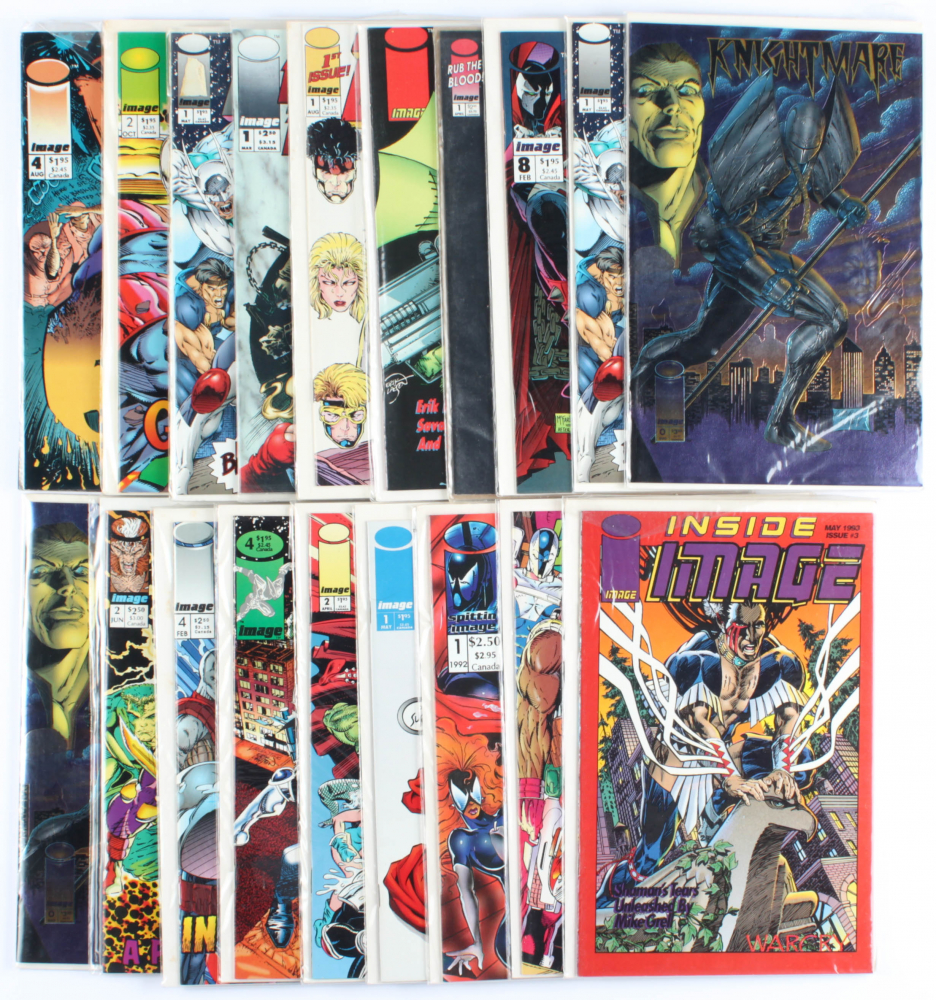 Lot of (20) Assorted Image Comic Books Issues Ranging from #1 - #8 at PristineAuction.com