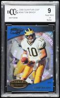 Tom Brady 2000 Quantum Leaf #343 RC (BCCG 9) at PristineAuction.com