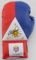 Manny Pacquiao Signed Boxing Glove (PSA COA) at PristineAuction.com