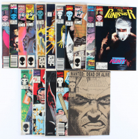 Lot of (15) The Punisher Marvel Comic Books Issues Ranging from #1 - #59 at PristineAuction.com