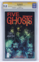 "Frank J. Barbiere & Chris Mooneyham Signed 2013 ""Five Ghosts"" Issue #1 Phantom Variant Image Comic Book (CGC 9.8) at PristineAuction.com"