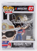 Richard Petty Signed NASCAR #02 Funko Pop! Vinyl Figure (Beckett COA) at PristineAuction.com