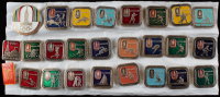 Vintage Set of (26) 1980 Russian Olympic Pins at PristineAuction.com