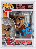 "Nicko McBrain Signed Iron Maiden #145 Funko Pop! Vinyl Figure Inscribed ""2020"" (Beckett COA) at PristineAuction.com"