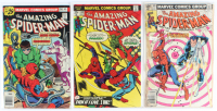 Lot of (3) Amazing Spider-Man Marvel Comic Books Issues Ranging from #149 - #201 at PristineAuction.com