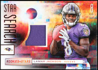 Lamar Jackson 2018 Rookies and Stars Star Search Jerseys #12 at PristineAuction.com