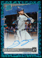 Bo Bichette 2020 Donruss Optic Rated Rookies Signatures Carolina Blue #21 at PristineAuction.com