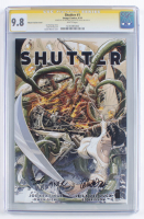 "Joe Keatinge & Leila Del Duca Signed 2014 ""Shutter"" Issue #1 Weaver Variant Cover Image Comic Book (CGC 9.8) at PristineAuction.com"