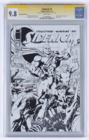 "Michael Stracyznski Signed 2013 ""Sidekick"" Issue #1 Expo Sketch Variant Cover Image Comic Book (CGC 9.8) at PristineAuction.com"
