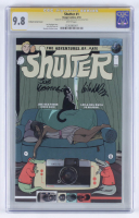 "Joe Keatinge & Leila Del Duca Signed 2014 ""Shutter"" Issue #1 Graham Variant Cover Image Comic Book (CGC 9.8) at PristineAuction.com"