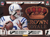 2013 Panini Crown Royale Football Hobby Box - 4 Autograph or Memorabilia cards per box - 2 Guaranteed Autographs at least! at PristineAuction.com
