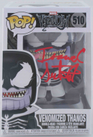 "Isaac C. Singleton Jr. Signed ""Venom"" #510 Venomized Thanos Funko Pop! Vinyl Figure (Beckett COA) at PristineAuction.com"