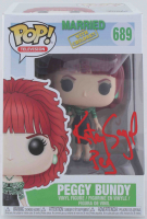 "Katey Sagal Signed ""Married with Children"" #689 Funko Pop! Figure Inscribed ""Peg"" (Beckett COA) at PristineAuction.com"